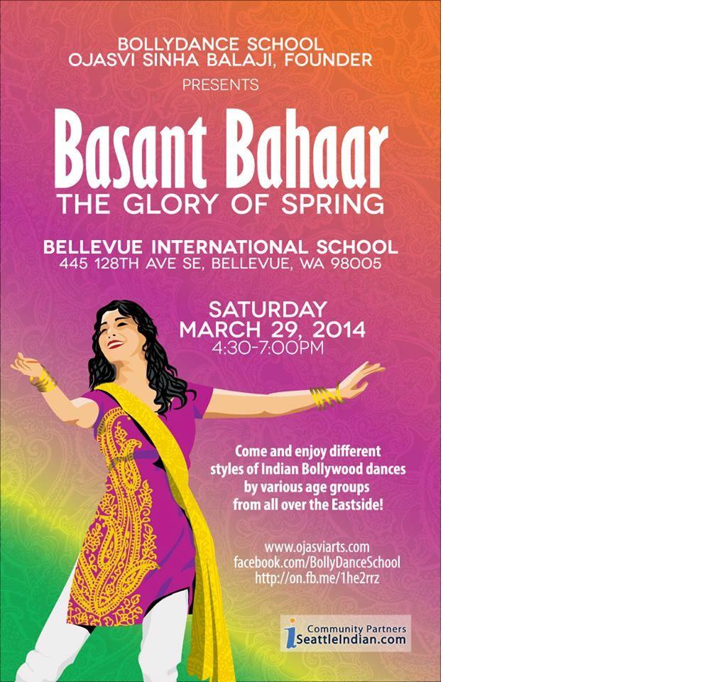 Basant Bahaar 2014, A Bollywood Dance Show
