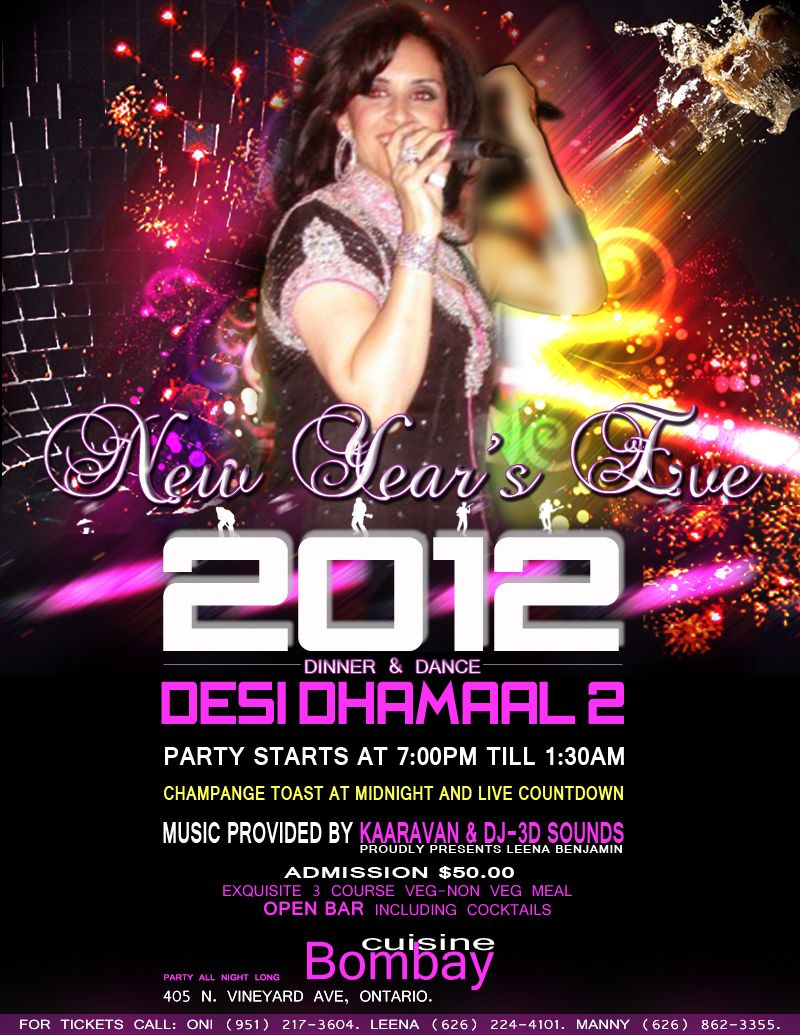 New Years Eve 2012-Desi Dhamaal 2