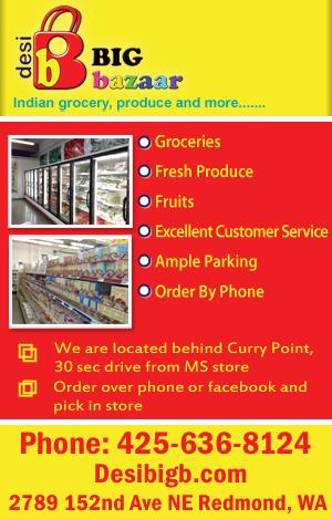 Big Bazaar Redmond Grocery Stores Seattle Indian Grocery