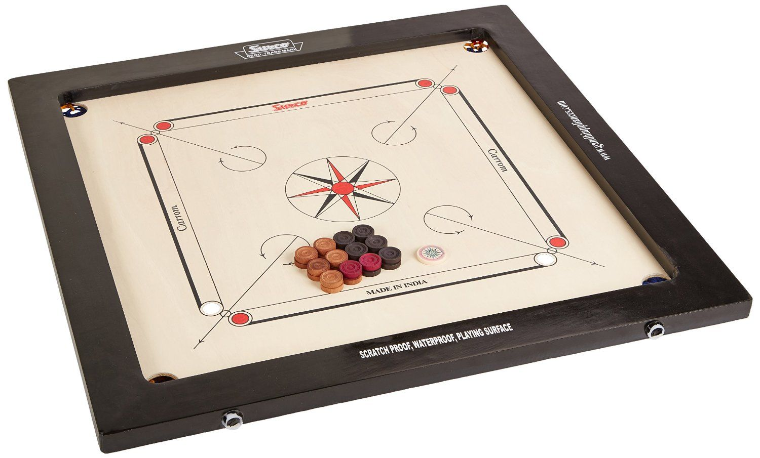 Sale Carrom Board With Coins And Striker Toys Games