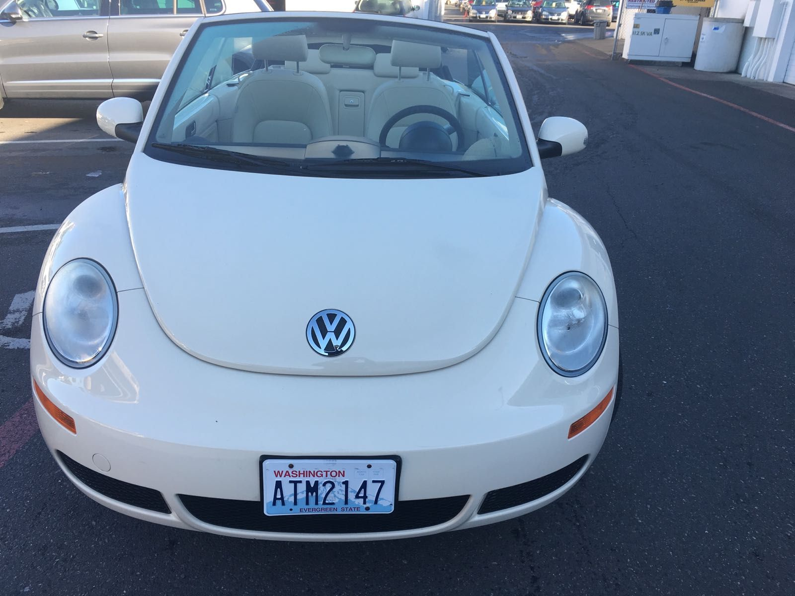 2008 Vw Convertible New Beetle Automatic Automobiles Cars