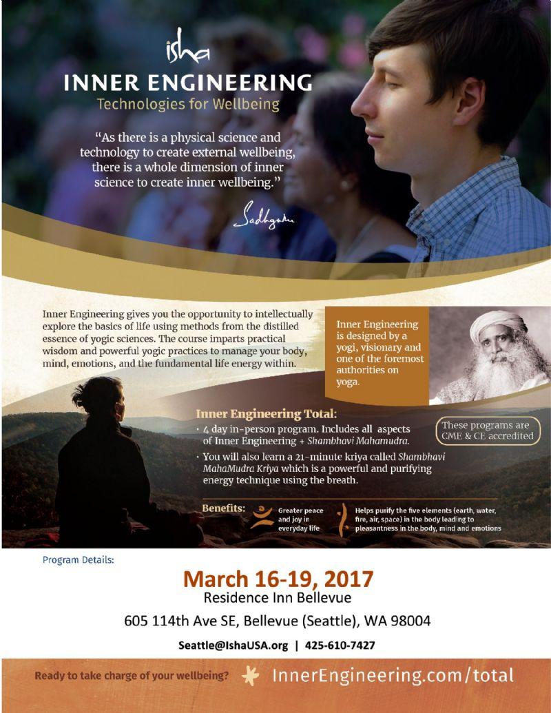 Inner Engineering Total - Mar 16- 19