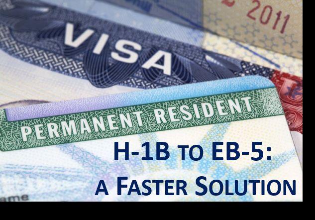H1B to EB5 Visa Seminar