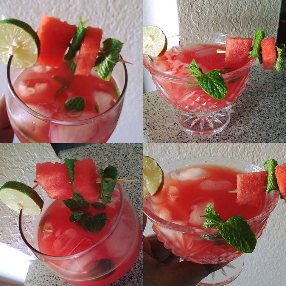 Watermelon mint Cooler