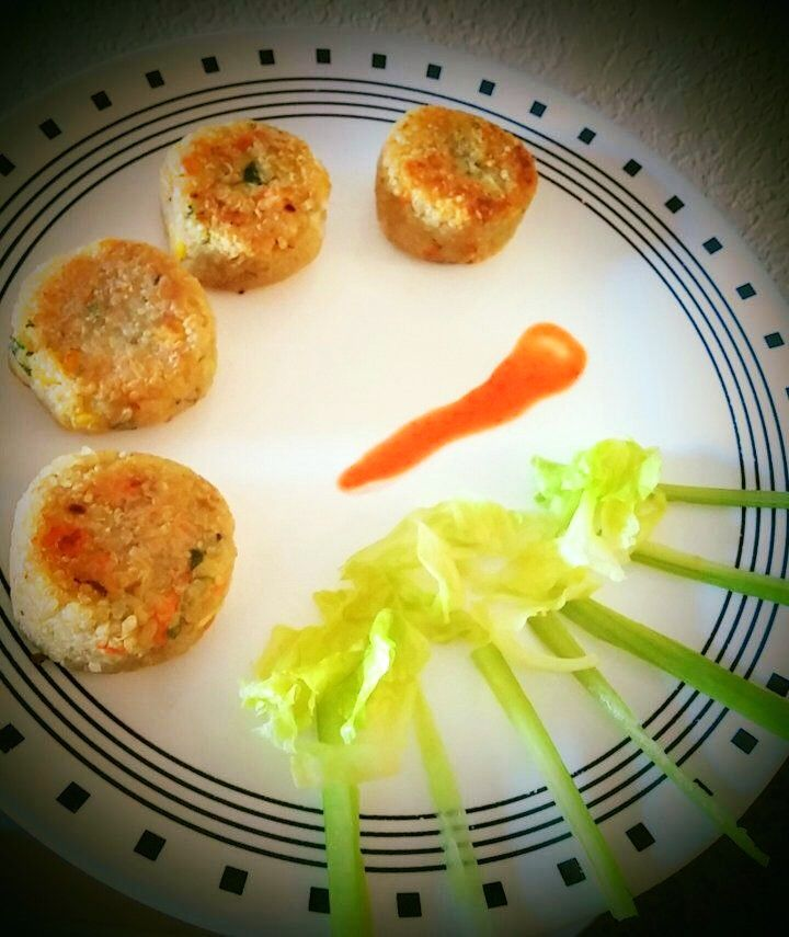 Quinoa Vegetable Cutlet