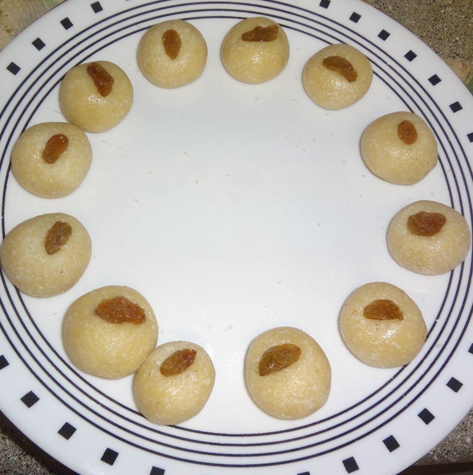 Cashew(kaju) ladoo