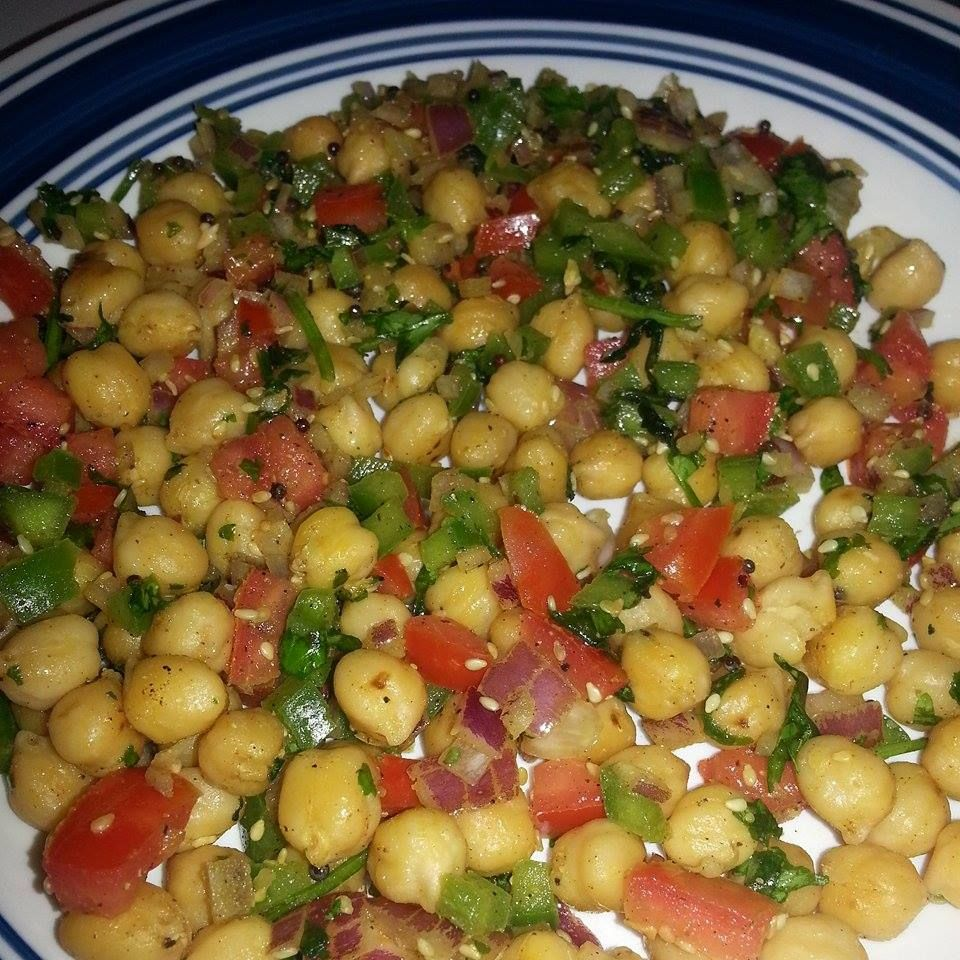Stir Fry Garbanzo(chickpeas)