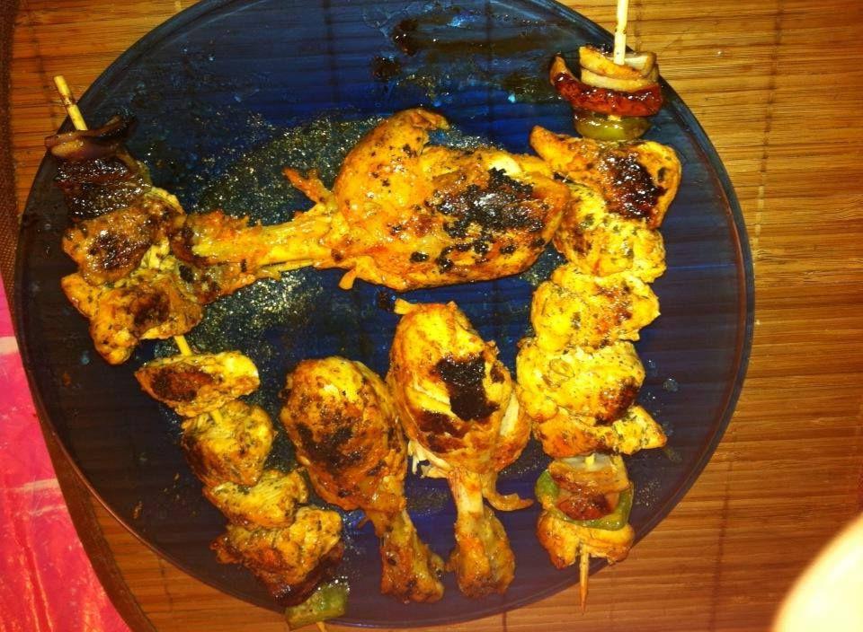 Tawa tandoori chicken