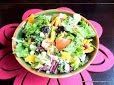 Garden Salad with Dry mangoes