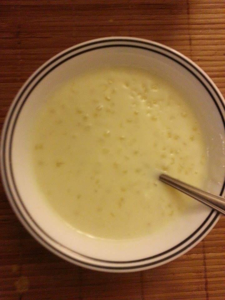 Sabudana(tapioca) kheer
