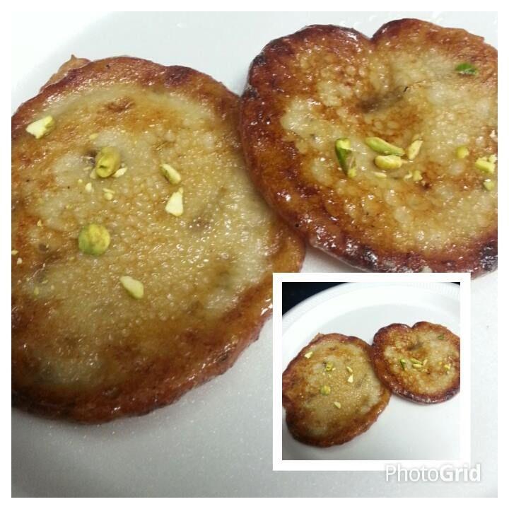 Banana oats Malpua