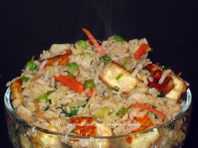 Paneer/Tofu Fried rice