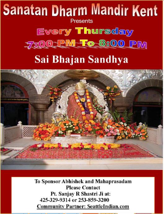 Sai Bhajan Sandhya