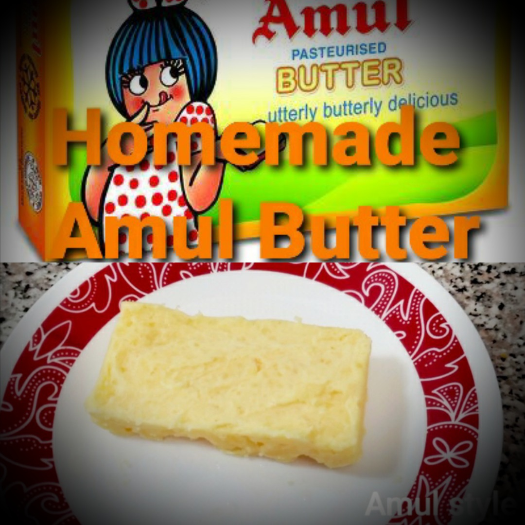 Home made Amul Butter
