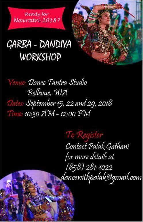 Garba-Dandiya Workshop by Palak