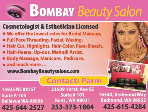 Virginia Tax Calculator >> Bombay Salon Bellevue Beautician, Hair Salon, Spa Parm Seattle Indian Beautician, Hair Salon, Spa