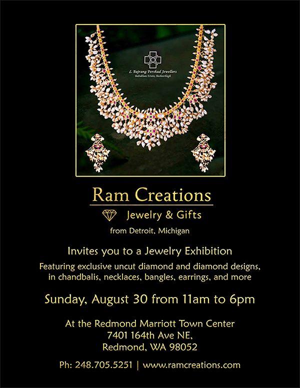exclusive jewelry exhibition in redmond marriott town