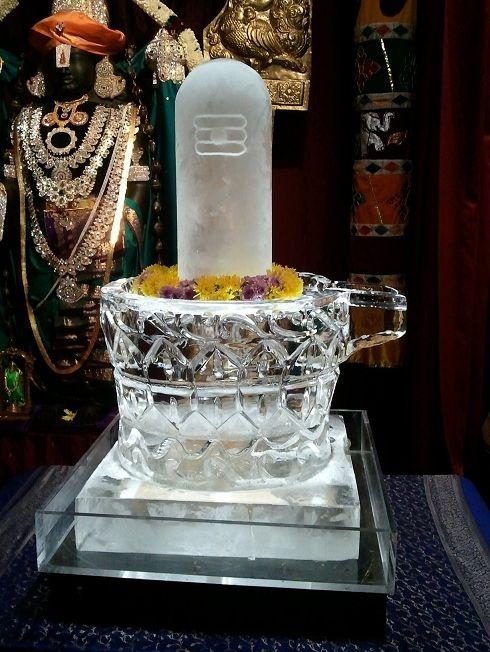Maha Shivaratri 9th March - with special Ice Linga by