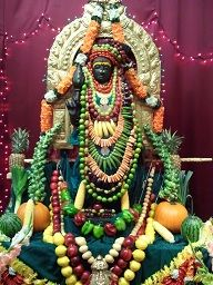 Navarathri Devi puja by Kailaasa of Seattle - Nithyanandeshwara