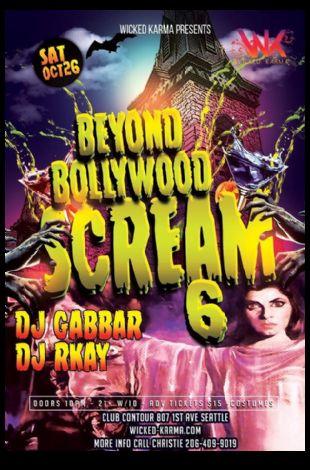 Bollywood Halloween SCREAM! 6