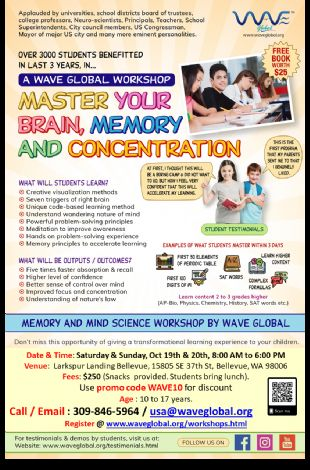 Master your Brain, Memory and Brain