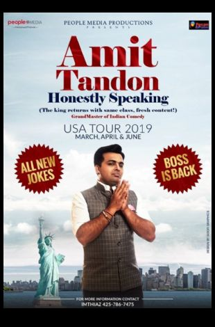 Honestly Speaking-Amit Tandon Stand-Up Comedy: Live in Seattle