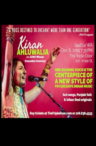 Indian Concert -  Kiran Ahluwalia