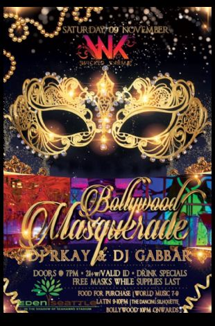 Beyond Bollywood Masquerade Party
