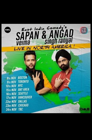 Seattle - EIC's Sapan Verma & Angad Singh Ranyal