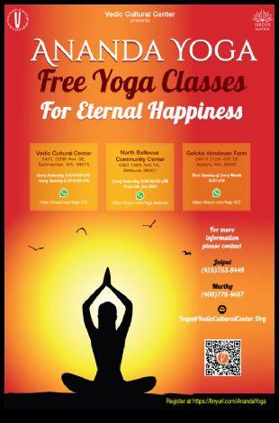 Anand Yoga - Free Yoga Classes