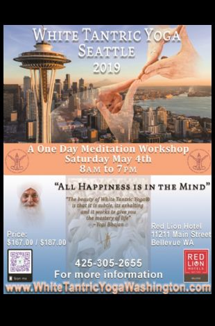 White Tantric Yoga Washington in The Red Lion Hotel Bellevue