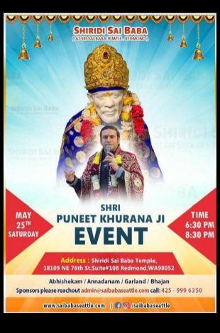 Sai Sandhya Bhajans With Puneet Khurana