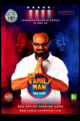 Praveen Kumar's (Mr. Family Man) Stand-up comedy Live In SEATTLE