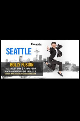 Rohit Gijare: Seattle Bollywood Dance Workshop