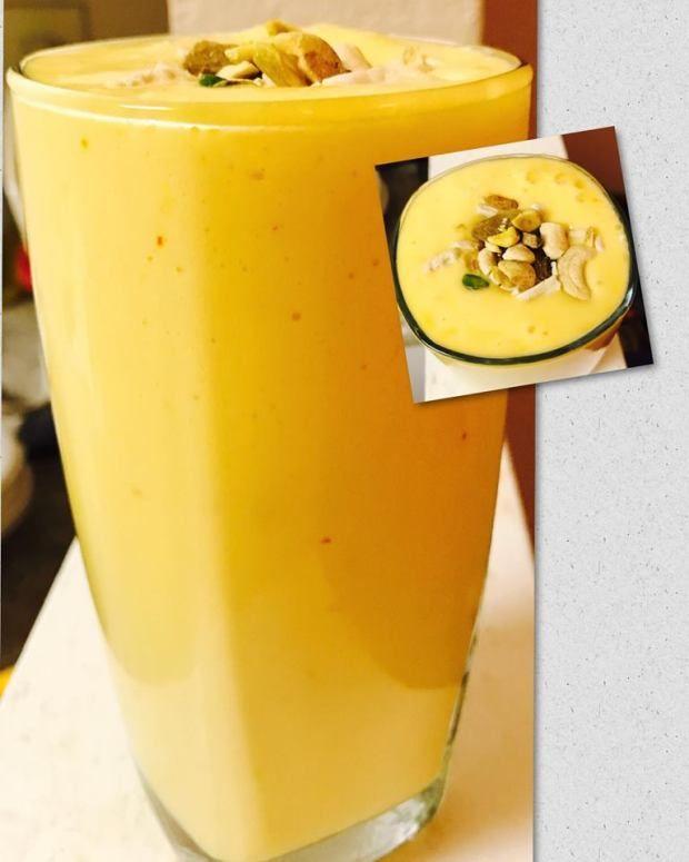Saffron Mango Smoothie