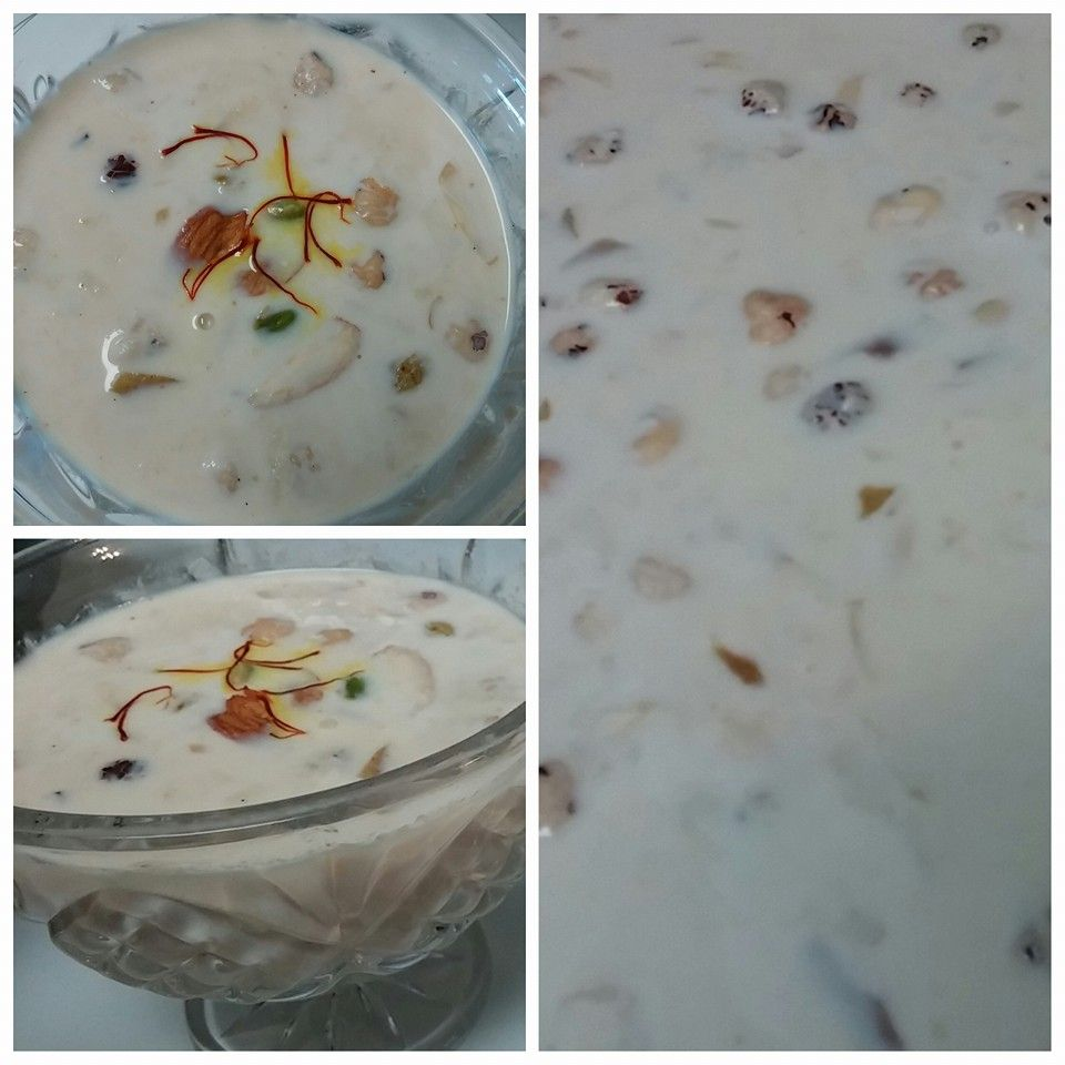 Fruity & Nutty Kheer