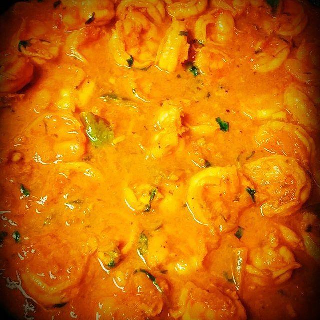 Jumbo Shrimp Curry