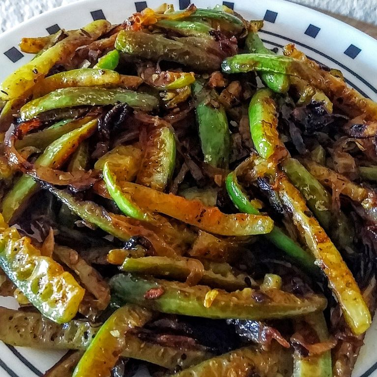 TINDORA STIR-FRY WITH ONION